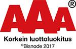 AAA-luottoluokitus • Toiprint Oy